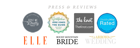 John and Colette photography press & reviews badge