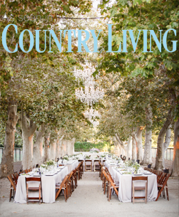 As seen in Country Living Magazine Whispering Rose Ranch weddings