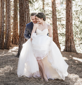 Serendipity Garden Wedding nestled in the San Bernardino Mountains
